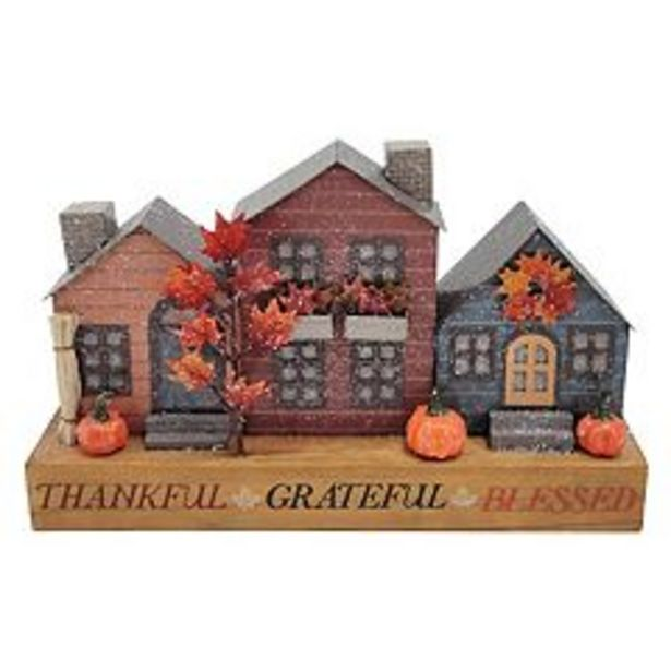 Celebrate Fall Together LED Thankful Blessed House Table Decor deals at $14.99