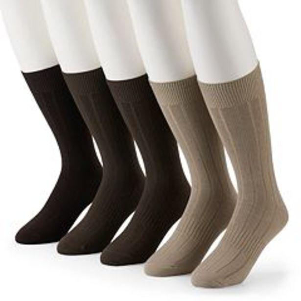 Men's Croft & Barrow® 5-pack Opticool Socks deals at $2.7