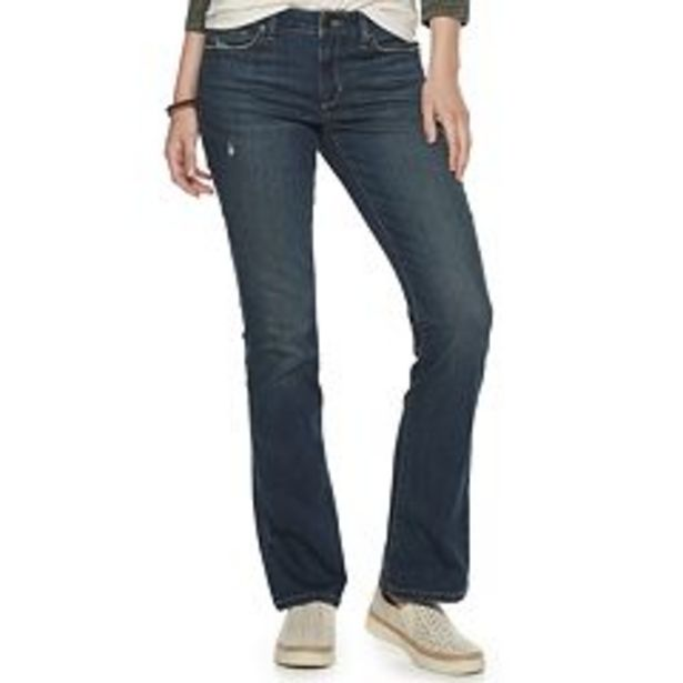 Women's Sonoma Goods For Life® Midrise Bootcut Jeans deals at $14.99
