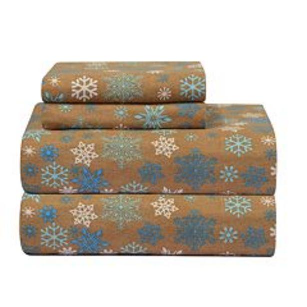 Pointehaven Flannel Sheet Set deals at $37.99