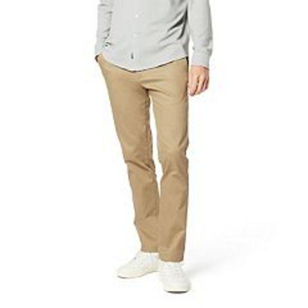 Men's Dockers® Signature Khaki Lux Slim-Fit Stretch Pants deals at $62