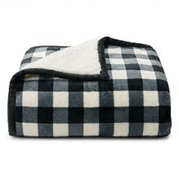 Cuddl Duds® Plush to Sherpa Throw deals at $19.99