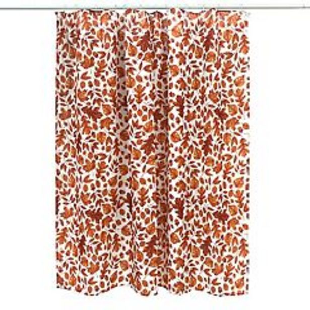 Celebrate Fall Together Printed Leaves Shower Curtain deals at $20.99