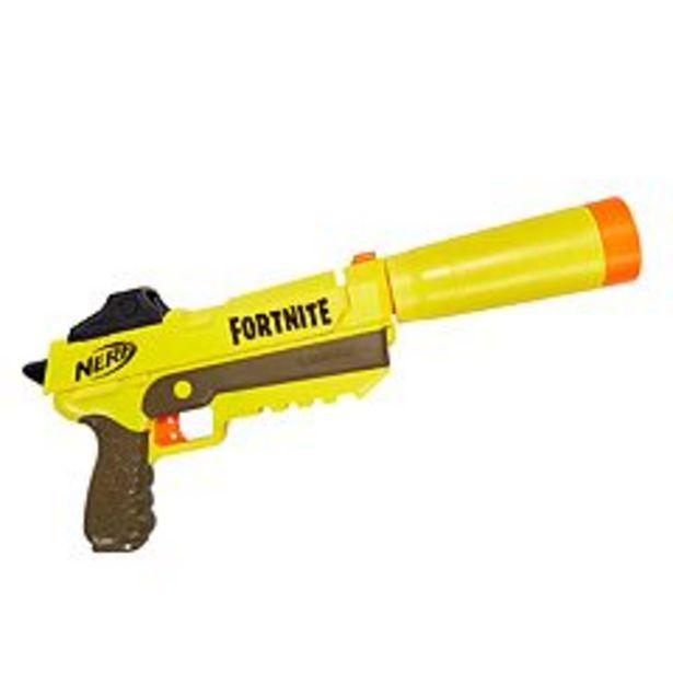 Nerf Fortnite SP-L Elite Dart Blaster deals at $9.99