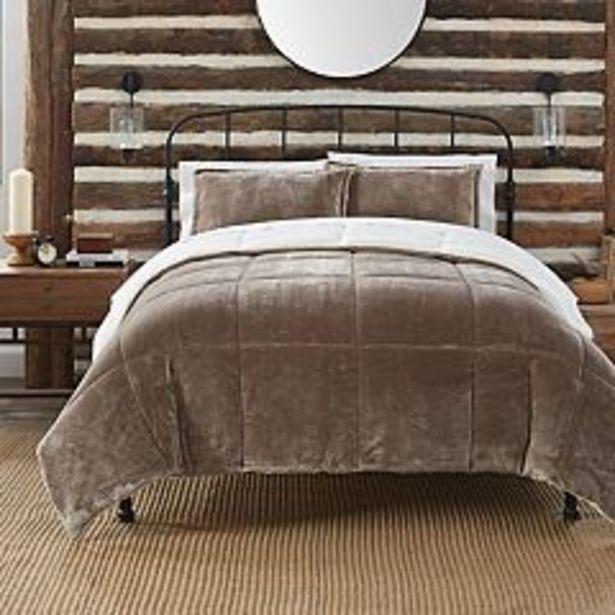 Serta® Cozy Plush 3-Piece Comforter Set with Shams deals at $39.99