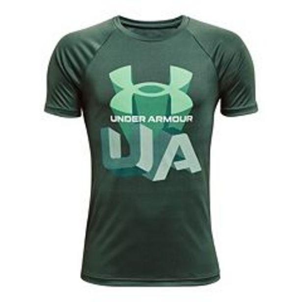 Boys 8-20 Under Armour Tech Repeat Logo Tee deals at $5