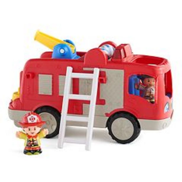 Fisher-Price Little People Helping Others Fire Truck deals at $12.74