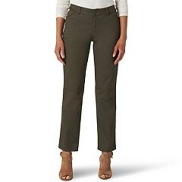 Women's Lee® Wrinkle-Free Relaxed Fit Straight-Leg Pants deals at $32.99