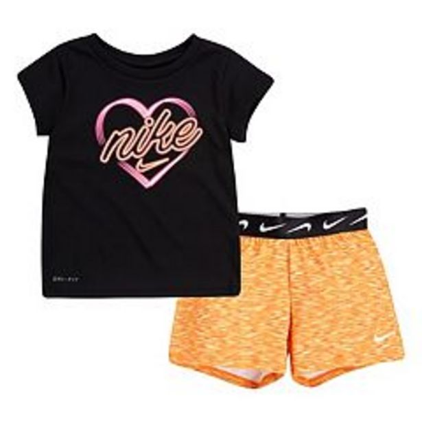 Toddler Girl Nike Graphic Tee & Shorts Set deals at $10.8