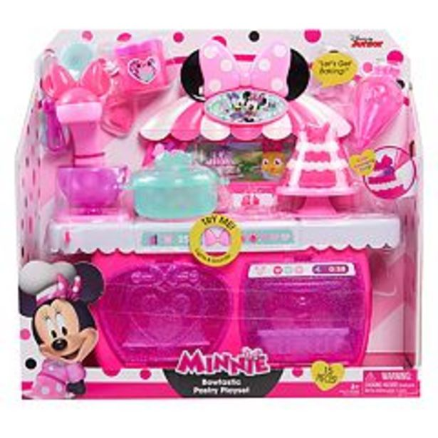 Just Play Minnie's Happy Helpers Bowtastic Pastry Playset deals at $16.49