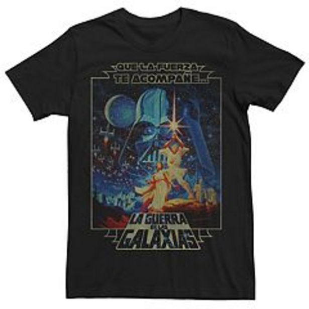 Men's Star Wars Faded Movie Poster Tee deals at $24.99