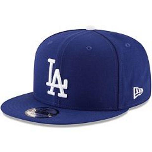 Men's New Era Navy Los Angeles Dodgers Team Color 9FIFTY Snapback Hat deals at $23.99