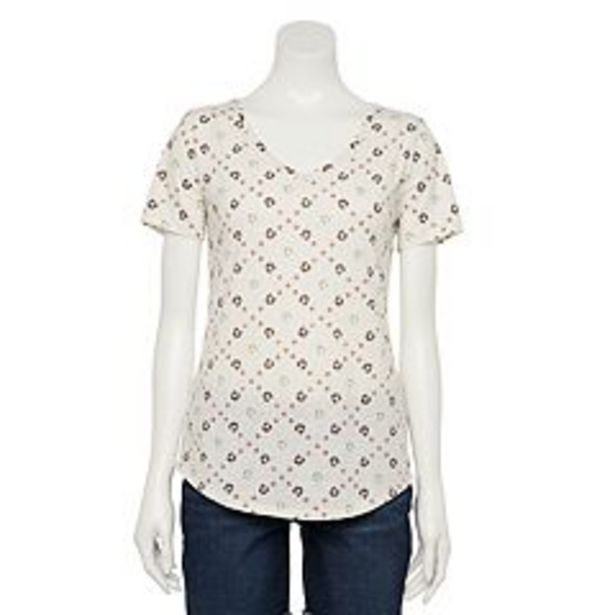 Women's Sonoma Goods For Life® Essential V-Neck Tee deals at $3.25