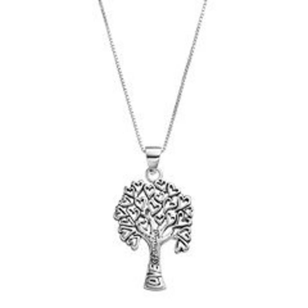 Timeless Sterling Silver Family Tree Pendant deals at $29.99