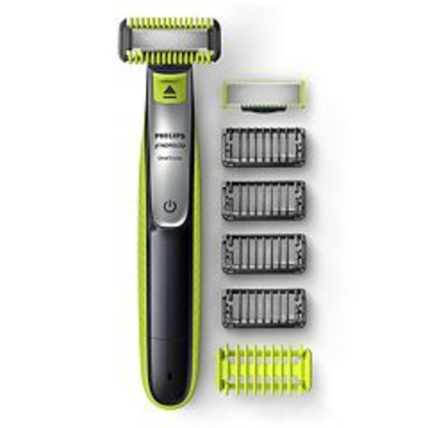 Philips Norelco OneBlade Face + Body Hybrid Electric Trimmer & Shaver deals at $49.99