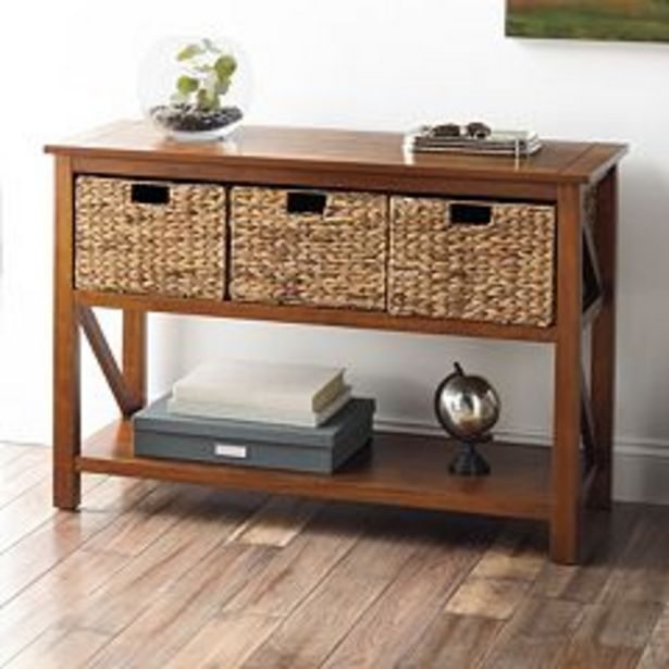 Sonoma Goods For Life® Cameron Console Table 4-piece Set deals at $155.99