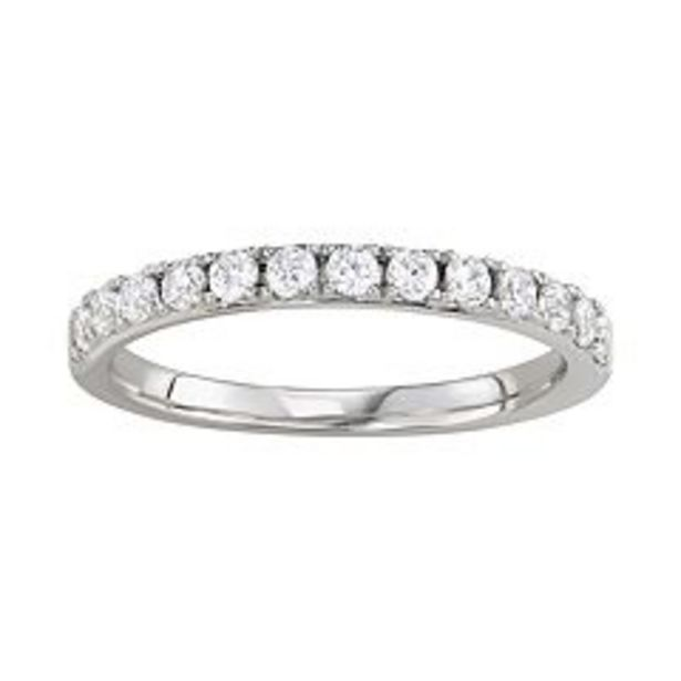 Simply Vera Vera Wang 14k Gold 1/2 Carat T.W. Diamond Wedding Band deals at $700