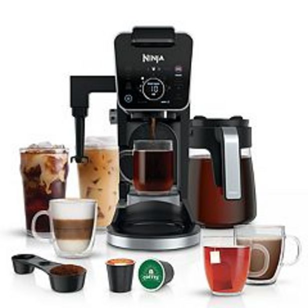 Ninja DualBrew Pro Specialty Coffee System, Single-Serve & 12-Cup Drip Coffee Maker CFP301 deals at $229.99