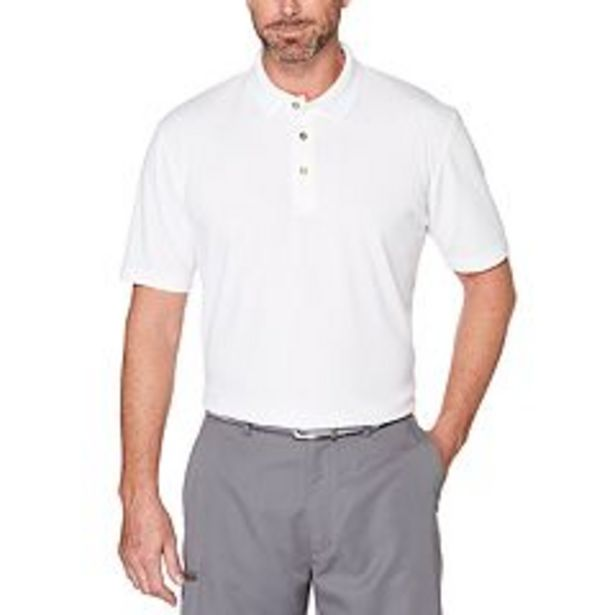 Men's Grand Slam Off Course Classic-Fit Solid Golf Polo deals at $24.99