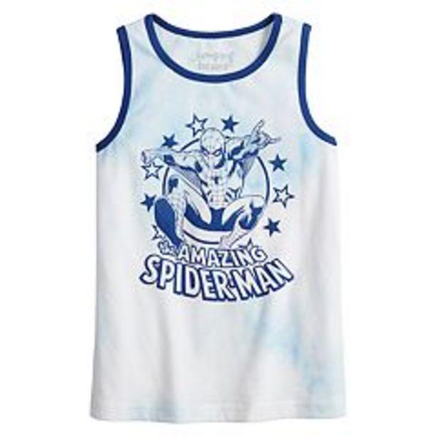 Boys 4-12 Jumping Beans® Marvel Spider-Man Tank Top deals at $3.5