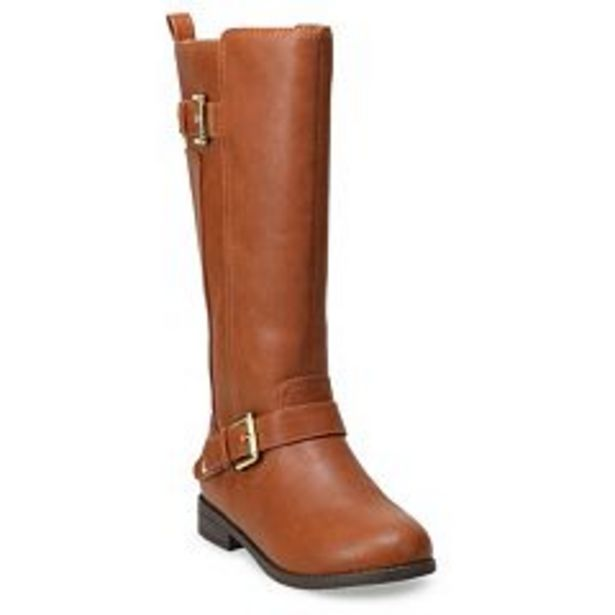 SO® Camilaa Girls' Riding Boots deals at $34.99