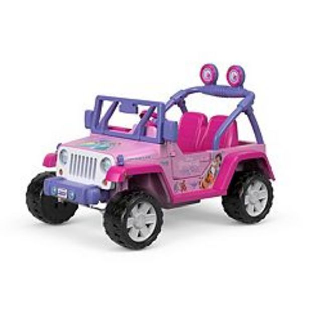 Disney Princess Jeep Wrangler Ride-On Vehicle by Fisher-Price Power Wheels deals at $299.99