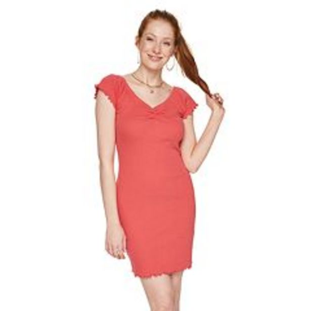 Juniors' SO® Cinched Bodycon Dress deals at $4.5