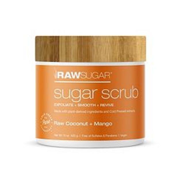 Raw Sugar Living Sugar Scrub - Raw Coconut + Mango deals at $13.99