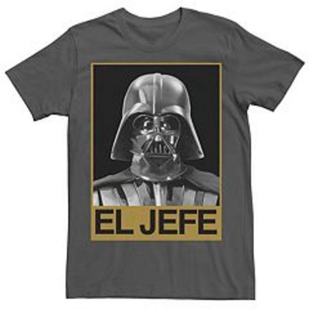 Men's Star Wars Darth Vader El Jefe Portrait Tee deals at $24.99