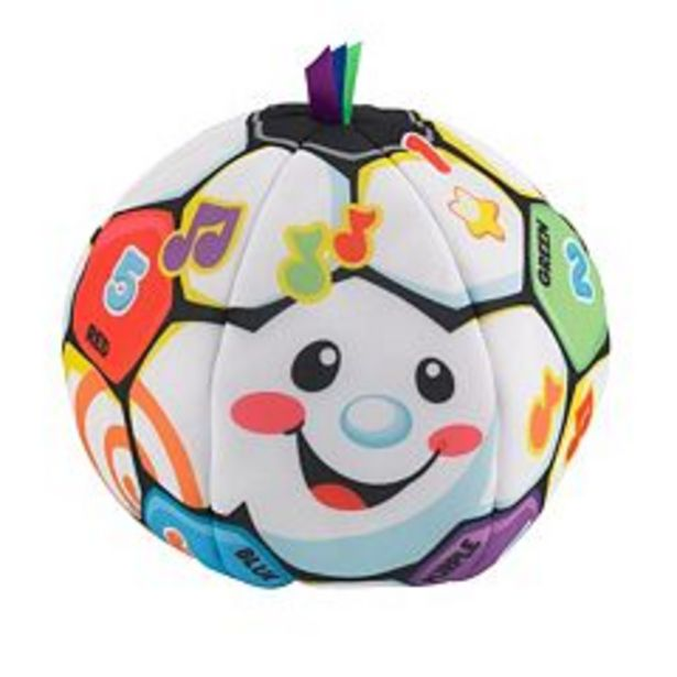 Fisher-Price Laugh & Learn Singin' Soccer Ball deals at $12.74