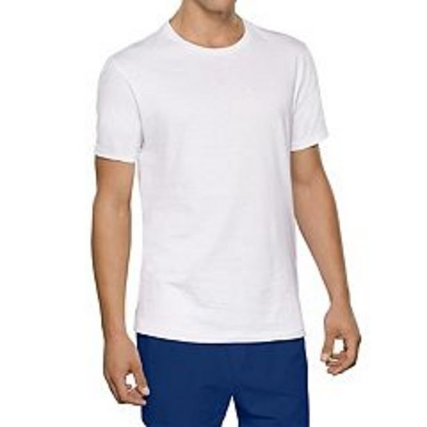 Men's Fruit of the Loom® Signature Tall Man Crew Tee (4-pack) deals at $30.4