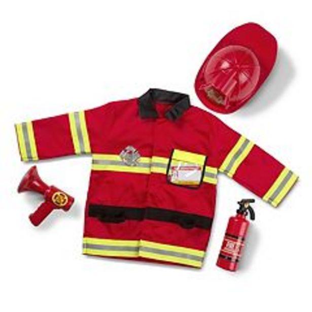 Melissa & Doug Fire Chief Costume - Kids deals at $28.04