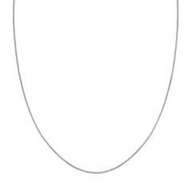 PRIMROSE Sterling Silver Box Chain Necklace deals at $55