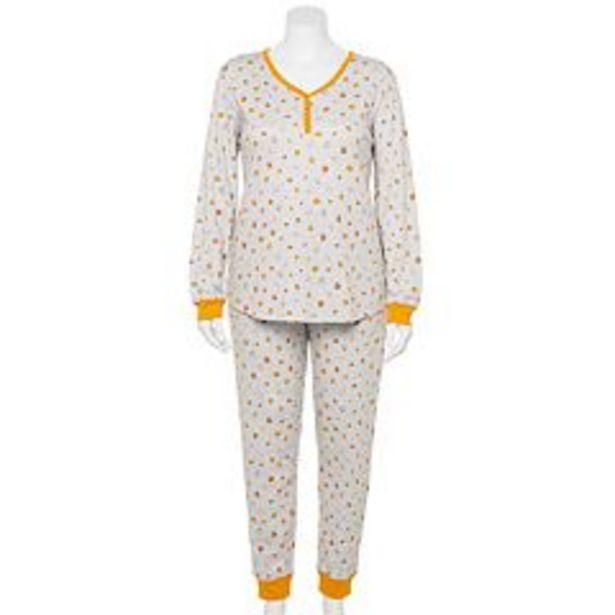Plus Size LC Lauren Conrad Jammies For Your Families® Halloween Harvest Pajama Set deals at $27