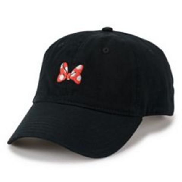Disney's Minnie Mouse Women's Embroidered Bow Baseball Cap deals at $15.4