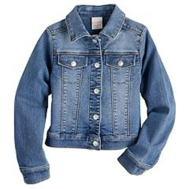 Girls 4-12 Jumping Beans® Denim Jacket deals at $19.2