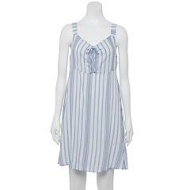 Juniors' SO® Ruched Elastic Strap Dress deals at $5.4