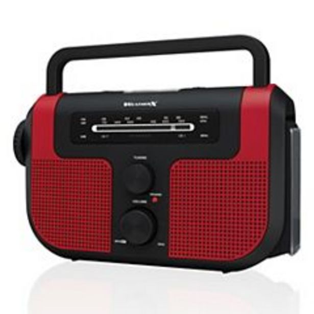 WeatherX Weather Band Radio with Flashlight & USB Charger deals at $38.49
