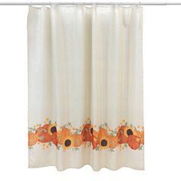 Celebrate Fall Together Pumpkin Sunflower Shower Curtain deals at $20.99