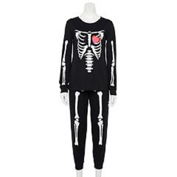 Women's Jammies For Your Families® Skeleton Pajama Set deals at $21