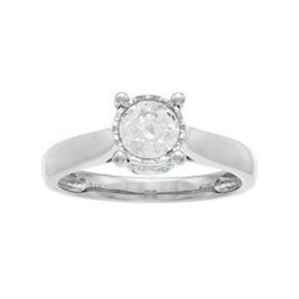 14k Gold 1 Carat T.W. Diamond Engagement Ring deals at $1349.99