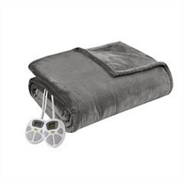 Serta® Plush Heated Blanket deals at $95.99