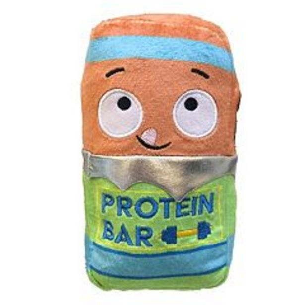 Woof Plush Protein Bar Dog Toy deals at $3.59