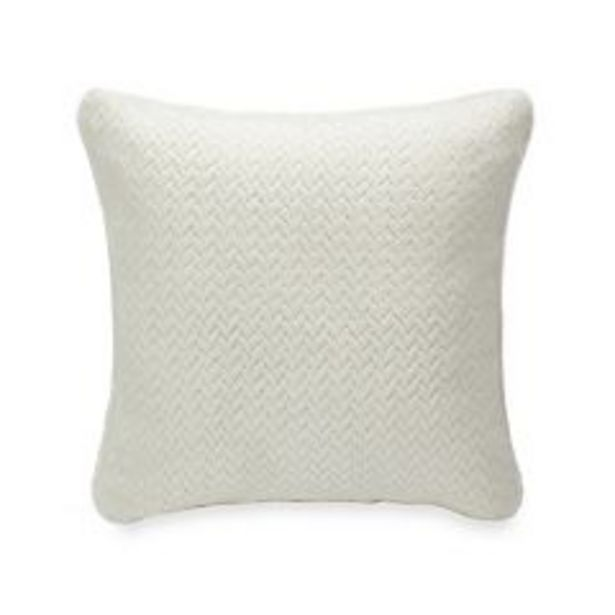 Cuddl Duds® Textured Solid Throw Pillow deals at $20.99