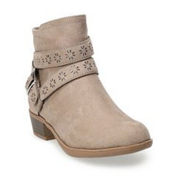 SO® Samanthaa Girls' Ankle Boots deals at $34.99