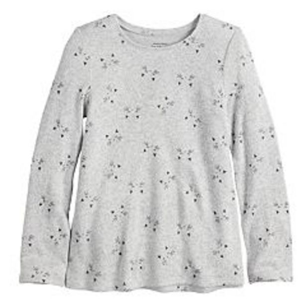 Girls 4-12 Jumping Beans® Cozy Knit Top deals at $4