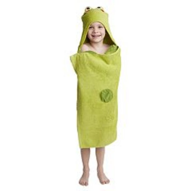 Jumping Beans® Frog Bath Wrap deals at $6.59