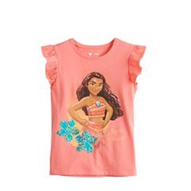 Disney's Moana Girls 4-12 Flutter Sleeve Tee by Jumping Beans® deals at $8