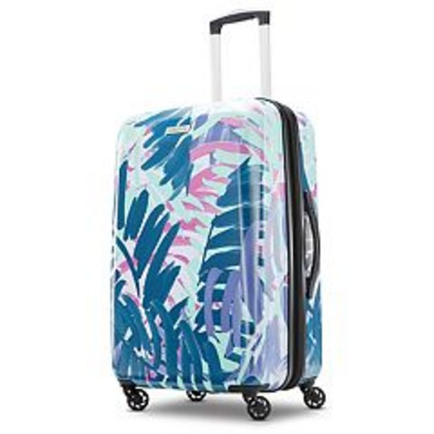 American Tourister Burst Max Printed Hardside Spinner Luggage deals at $107.99