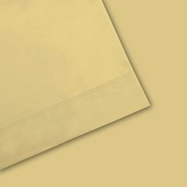 Purity™ 400 Thread Count Ultimate Percale Deep Pocket Cotton Sheet Set or Pillowcases deals at $23.09